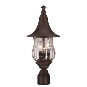 Acclaim Lighting Del Rio Outdoor Lantern  - 3 Bulbs - Cast aluminum - Bronze