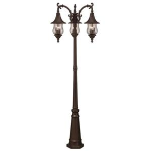 Acclaim Lighting Del Rio Outdoor Lantern  - 9 Bulbs - Cast aluminum - Bronze