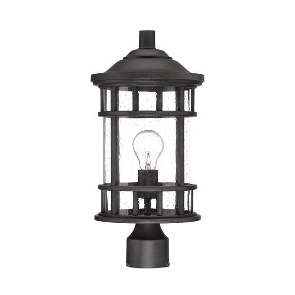 Acclaim Lighting Vista Ii Outdoor Lantern  - 1 Bulb - MarbleX - Black