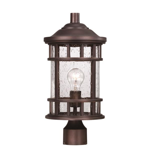 Lanterne extérieure Vista Ii , 1 ampoule, MarbleX, bronze