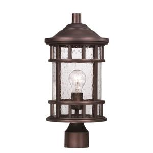 Acclaim Lighting Vista Ii Outdoor Lantern  - 1 Bulb - MarbleX - Bronze