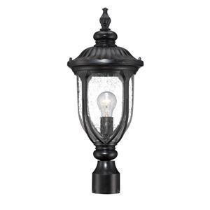 Acclaim Lighting Laurens Outdoor Lantern  - 1 Bulb - Black