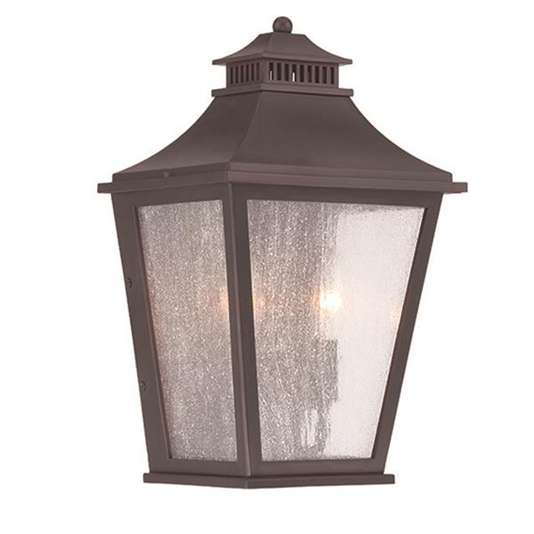 Acclaim Lighting Chapel Hill 14.50-in x 9-in Oil-Rubbed Bronze Wall-Mounted Lantern
