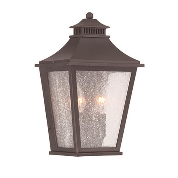 Acclaim Lighting Vero 12-in Oil Rubbed Bronze MarbleX Outdoor Wall Lantern