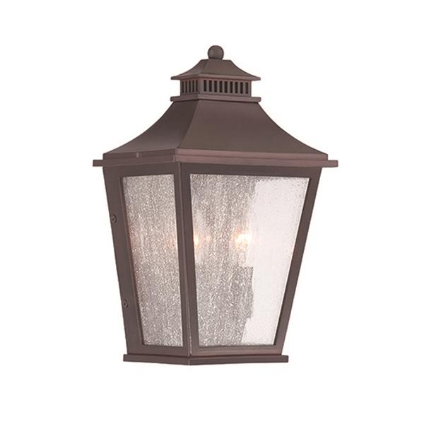 Acclaim Lighting Chapel Hill 12-in x 7.50-in Architectural Bronze Wall-Mounted Lantern