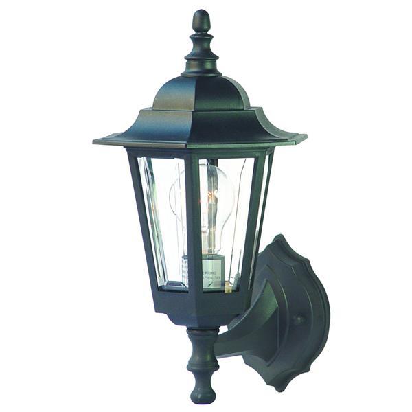 Acclaim Lighting Tidewater 14.5-in Matte Black MarbleX Outdoor Wall Lantern