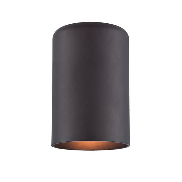 Acclaim Lighting VISTA II 6.88-in Architectural Bronze MarbleX Outdoor Wall Sconce