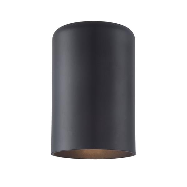 Acclaim Lighting VISTA II 6.88-in Matte Black MarbleX Outdoor Wall Sconce