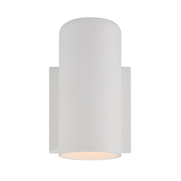 Acclaim Lighting VISTA II 6.88-in Textured White MarbleX Outdoor Wall Sconce