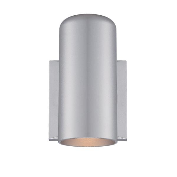 Acclaim Lighting VISTA II 6.88-in Brushed Silver MarbleX Outdoor Wall Sconce