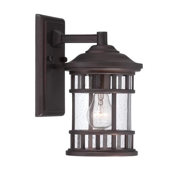 "Acclaim Lighting Vista Ii Wall-Mounted Lantern - 11.25"" - MarbleX - Bronze"