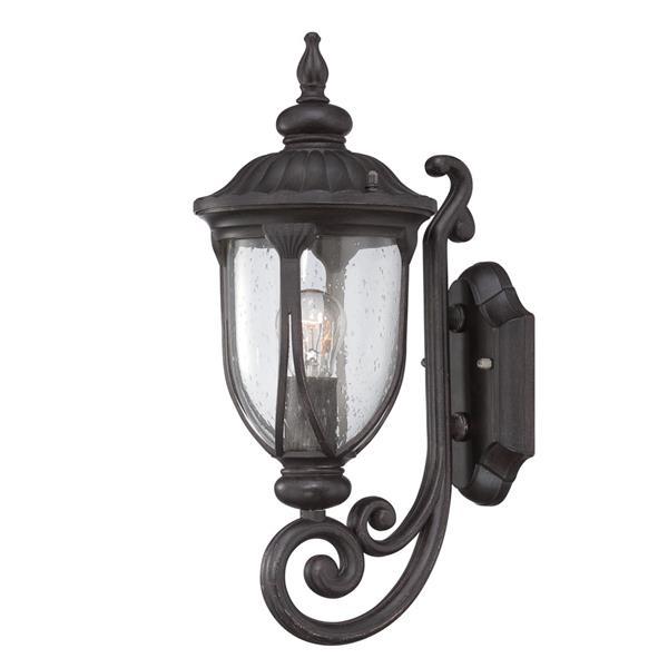 Acclaim Lighting Laurens 16.5-in Black Coral Outdoor Wall Lantern