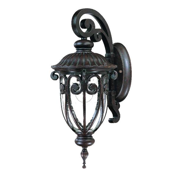 Acclaim Lighting Naples 18-in Brown Aluminum Outdoor Wall Lantern