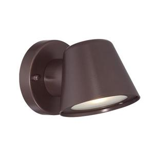 "Lanterne murale Led Wall Sconces, 4,5"", aluminium, bronze"