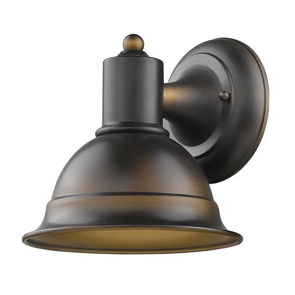 Acclaim Lighting Colton 8.25-in Bronze Outdoor Wall Light