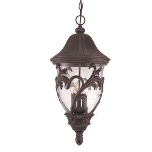 "Acclaim Lighting Capri Lantern - 3 Bulbs - 25"" - Black"