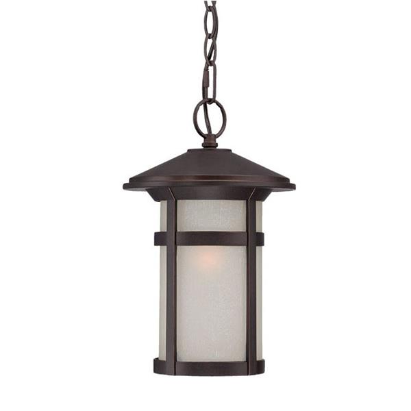 "Acclaim Lighting Phoenix Lantern - 1 Bulb - 13"" - Bronze"