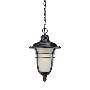 "Acclaim Lighting Montclair Lantern - 1 Bulb - 18"" - Black"