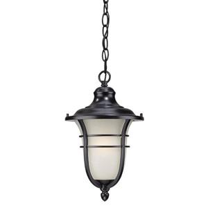 "Acclaim Lighting Montclair Lantern - 1 Bulb - 15.25"" - Black"
