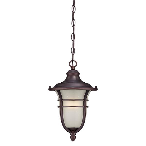 """Lanterne Montclair, 1 ampoule, 15,25"""", bronze"""