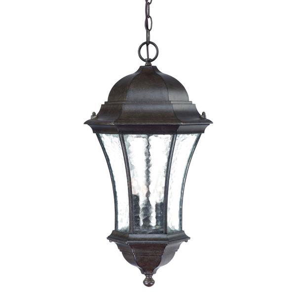 "Acclaim Lighting Waverly Lantern - 3 Bulbs - 23.5"" - Black"