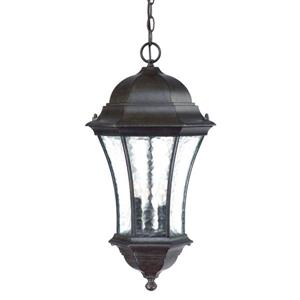 "Acclaim Lighting Waverly Lantern - 3 Bulbs - 23.5"" - Black"