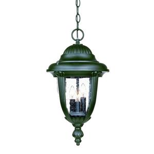 Acclaim Lighting Monterey Lantern - 3 Bulbs - Black