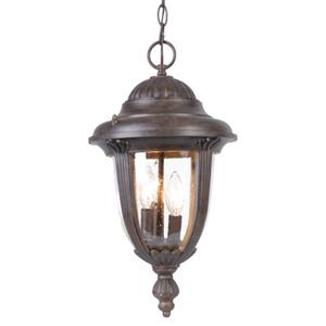 "Acclaim Lighting Monterey Lantern - 3 Bulbs - 19.5"" - Black"