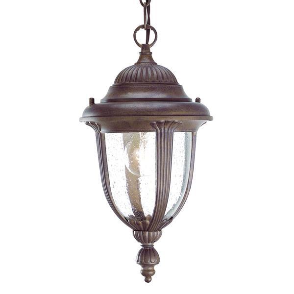 "Acclaim Lighting Monterey Lantern - 1 Bulb - 14"" - Brown"