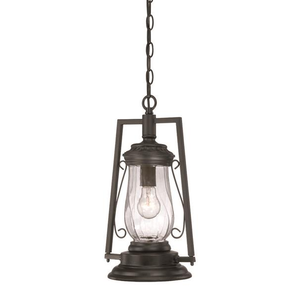 "Acclaim Lighting Kero Lantern - 1 Bulb - 17"" - Black"