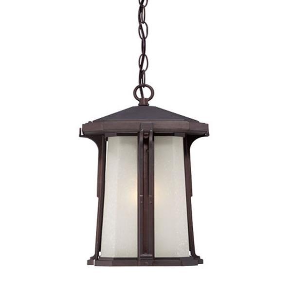 """Lanterne Illuma, 1 ampoule, 15"""", bronze"""