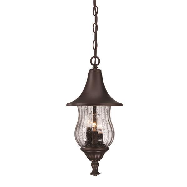 "Acclaim Lighting Del Rio Lantern - 3 Bulbs - 18"" - Bronze"