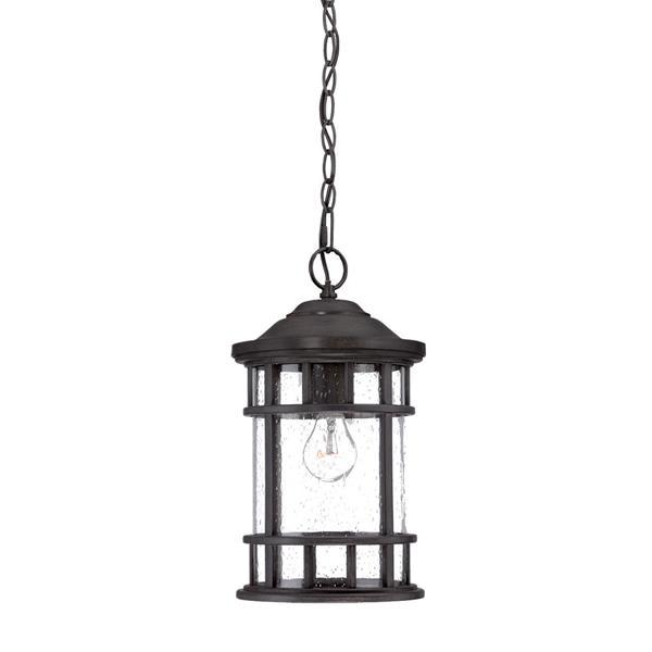 """Lanterne Vista Ii, 1 ampoule, 15,25"""", noir"""
