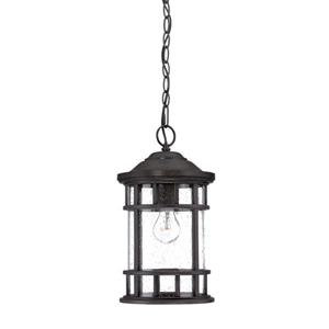 "Acclaim Lighting Vista Ii Lantern - 1 Bulb - 15.25"" - Black"