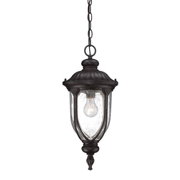 Acclaim Lighting Laurens Lantern - 1 Bulb - Black
