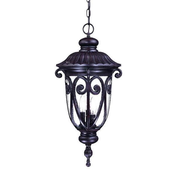 """Acclaim Lighting Naples Lantern - 3 Bulbs - 24.5"""" - Brown"""