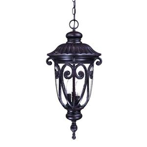 "Acclaim Lighting Naples Lantern - 3 Bulbs - 24.5"" - Brown"