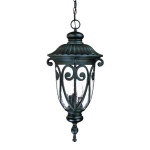 "Acclaim Lighting Naples Lantern - 3 Bulbs - 24.5"" - Black"