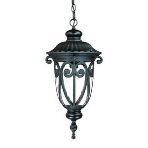 "Acclaim Lighting Naples Lantern - 1 Bulb - 20.5"" - Black"