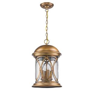 "Acclaim Lighting Lincoln Lantern - 4 Bulbs - 18.5"" - Brass"