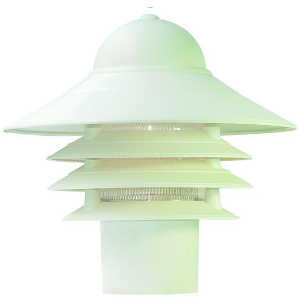Acclaim Lighting Mariner Outdoor Lantern  - 1 Bulb - Composite - White