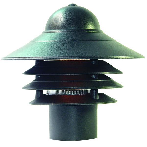 Lanterne extérieure Mariner , 1 ampoule, composite, noir