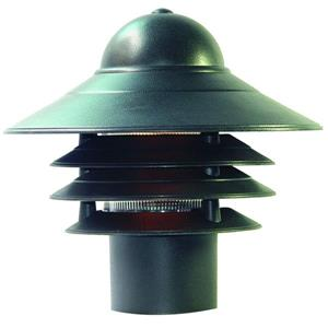 Acclaim Lighting Mariner Outdoor Lantern  - 1 Bulb - Composite - Black
