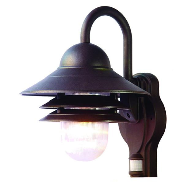 "Lanterne murale Mariner, 13"", composite, bronze"