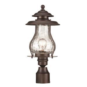 Lanterne extérieure Blue Ridge , 1 ampoule, acier, bronze