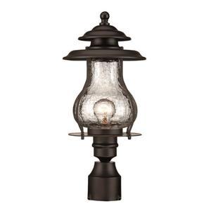 Lanterne extérieure Blue Ridge , 1 ampoule, acier, noir