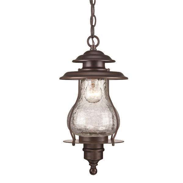 """Lanterne Blue Ridge, 1 ampoule, 16,5"""", bronze"""