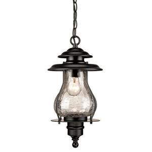 "Acclaim Lighting Blue Ridge Lantern - 1 Bulb - 16.5"" - Black"