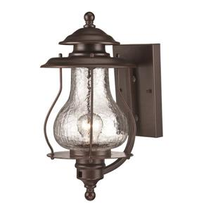 Acclaim Lighting Blue Ridge 16-in x 8-in Architectural Bronze Wall Mounted Lantern