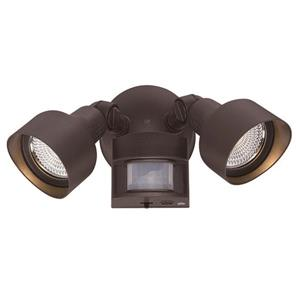 Acclaim Lighting Bronze LED Motion Activated Floodlight